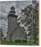 30-mile Point Lighthouse 3197 Wood Print