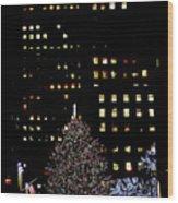 30 Rock, Christmas Eve, 2011 Wood Print