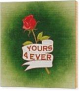 Valentines Wood Print