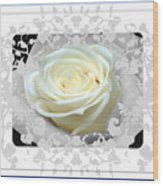 Wedding Rose Collection  Wood Print