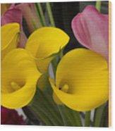 ,, Flowers ,, Wood Print