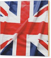 British Flag 6 Wood Print