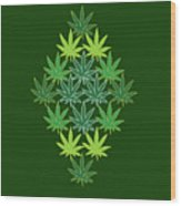 31 Wood Print