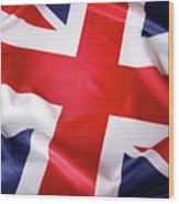 British Flag 7 Wood Print