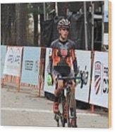 Fearless Femme Racing Wood Print