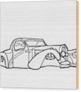 32 Ford Roadster Wood Print