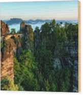Landscape Paintings Wood Print