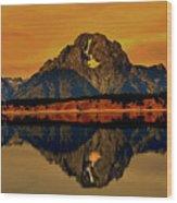 Yellowstone Park Wood Print