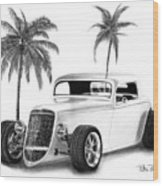 33 Ford Coupe Wood Print