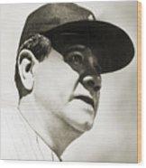 George H. Ruth (1895-1948) Wood Print