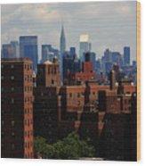 New York City Skyline 3 Wood Print