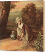 Walton Henry A Country Maid Henry Walton Wood Print