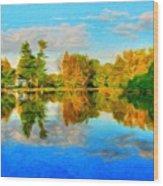 Nature Landscape Pictures Wood Print