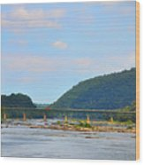340 Bridge Harpers Ferry Wood Print by Bill Cannon