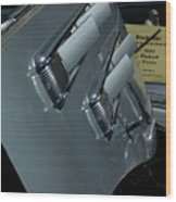 35 Packard Wood Print