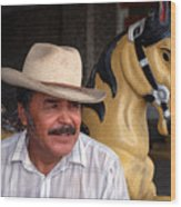Cuidad Juarez Mexico Color From 1986-1995 Wood Print