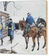 35424 Frederick Remington Wood Print