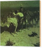 35427 Frederick Remington Wood Print
