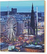 Edinburgh, Scotland Wood Print