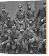 369th Infantry Regiment Wood Print