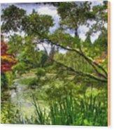 Landscape Show Wood Print