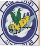 37th Tactical Airlift Squadron Wood Print
