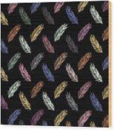 Lovely Pattern Wood Print