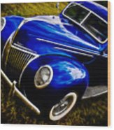 39 Ford V8 Coupe Wood Print