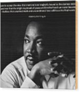 39- Martin Luther King Jr. Wood Print by Joseph Keane