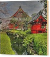 Tokyo Japan Wood Print