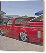 1982 Chevy S10_1a Wood Print