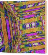 3d Unlimited Spectrum  Wood Print