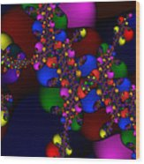 3x1 Abstract 908 Wood Print