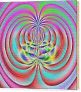 3x1 Abstract 919 Wood Print