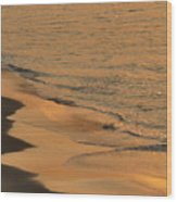 Golden Sand  Wood Print