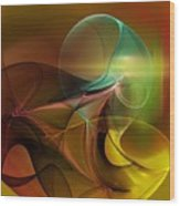4-3-10aa Wood Print