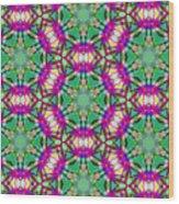 Arabesque 090 Wood Print