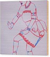 Adowa Dance Ghana Wood Print