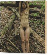Ana Wood Print