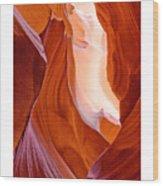 Antelope Canyon Wood Print by Carl Amoth