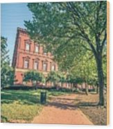 Architecture And Buildings On Streets Of Washington Dc Wood Print