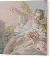 Aurora And Cephalus Wood Print