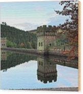 Autumn Derwent Reservoir Derbyshire Peak District Wood Print