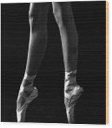 Ballerina Wood Print