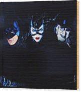 Batman Returns 1992 Wood Print
