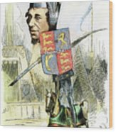 Benjamin Disraeli Wood Print