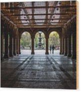 Bethesda Terrace Wood Print