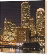 Boston Massachusetts Wood Print