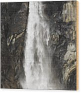 Bridalveil Falls Wood Print