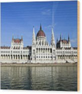 Budapest, Parliament Building  Wood Print
